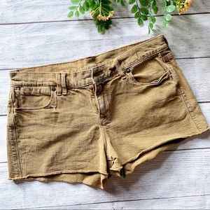 MADEWELL Kraft brown shorts size 28